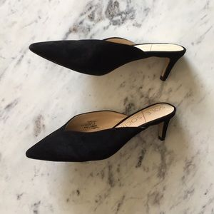 Sole Society Maleah Suede Mule Pump
